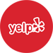 image shows Yelp icon
